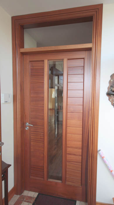 Sheeted Door with Vision Panel