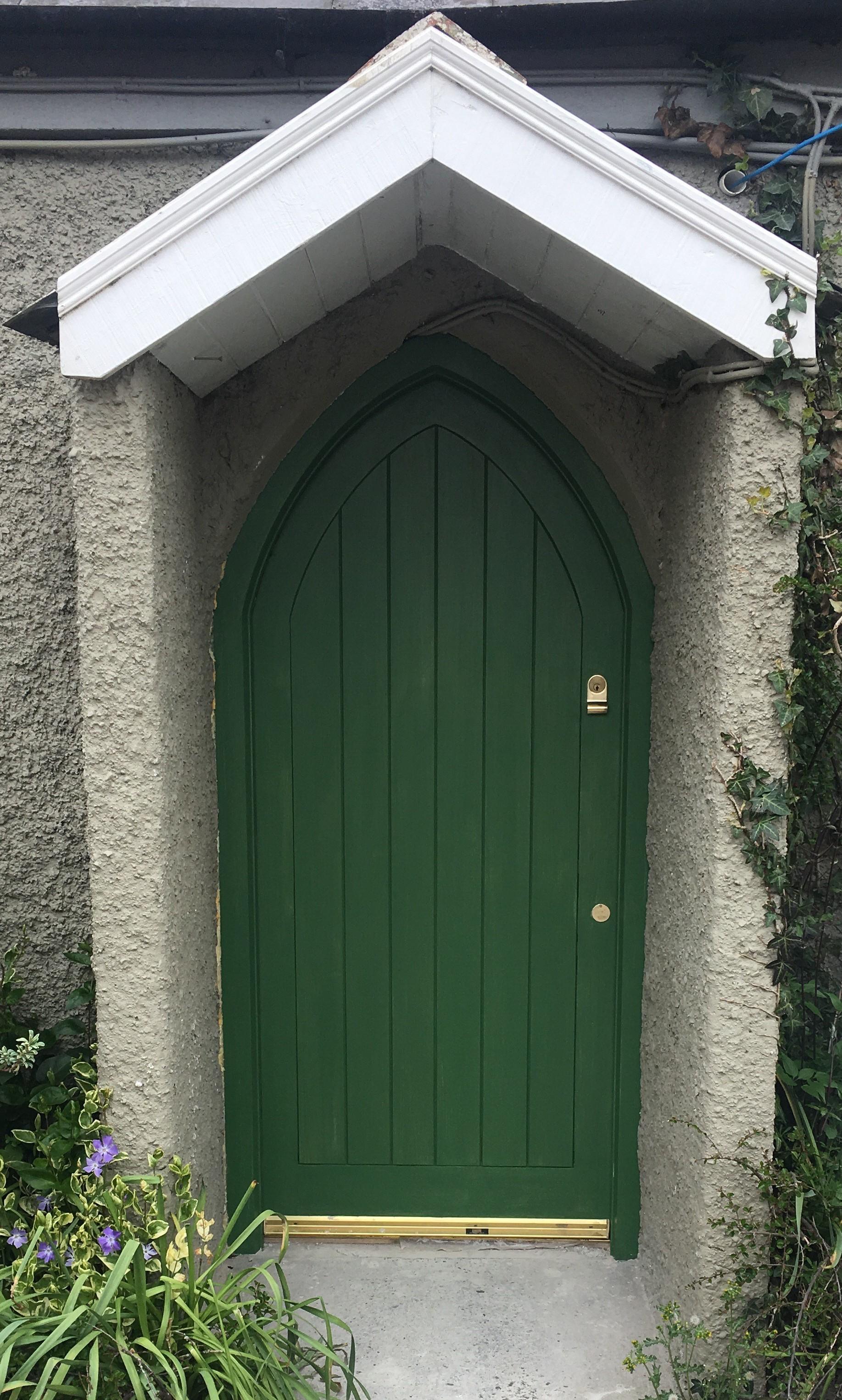 Gothic Sapele Door