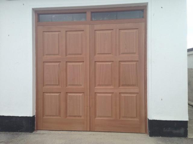 6 Panel Garage Doors