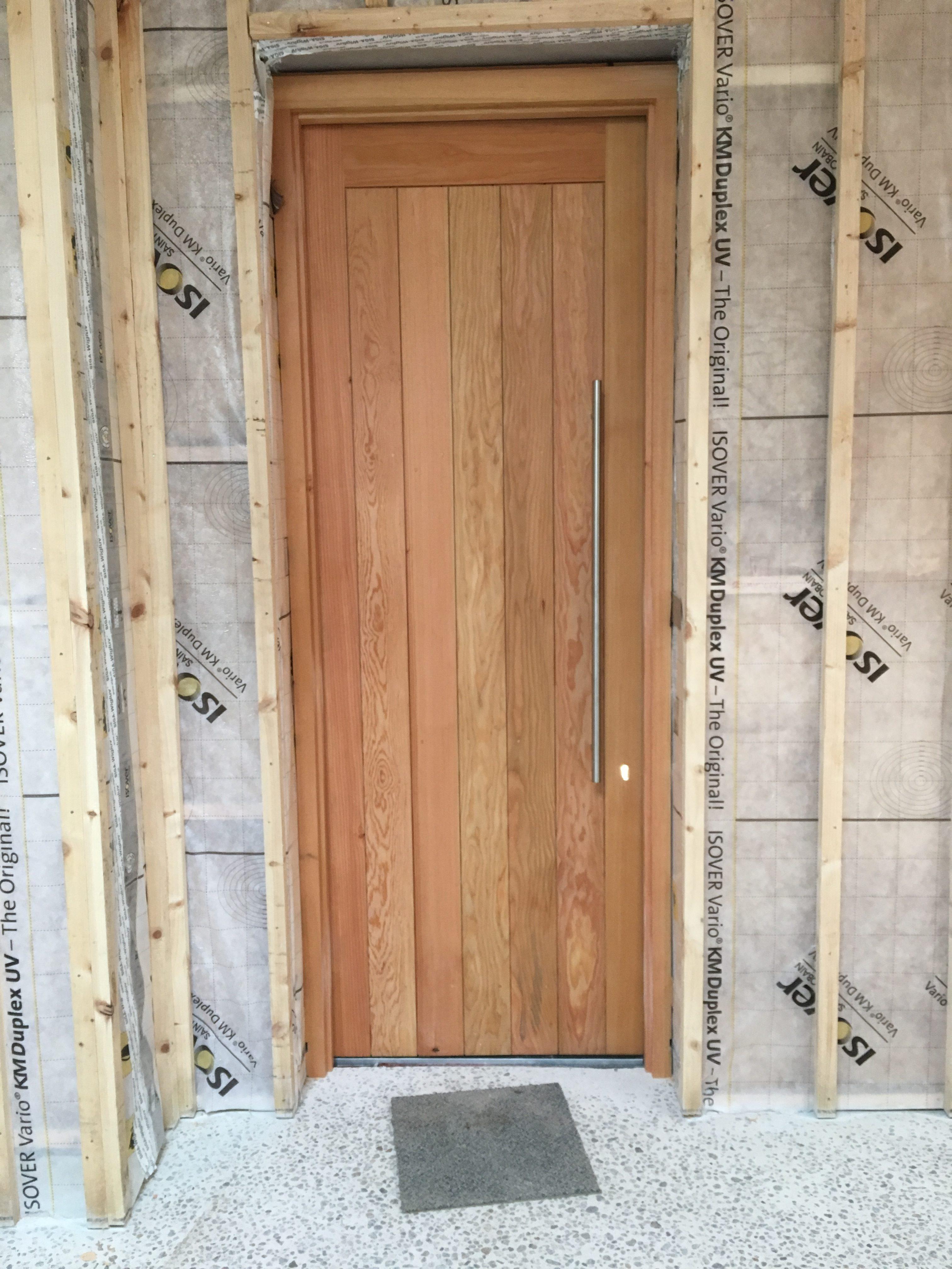 66mm Douglas Fir Sheeted Door.