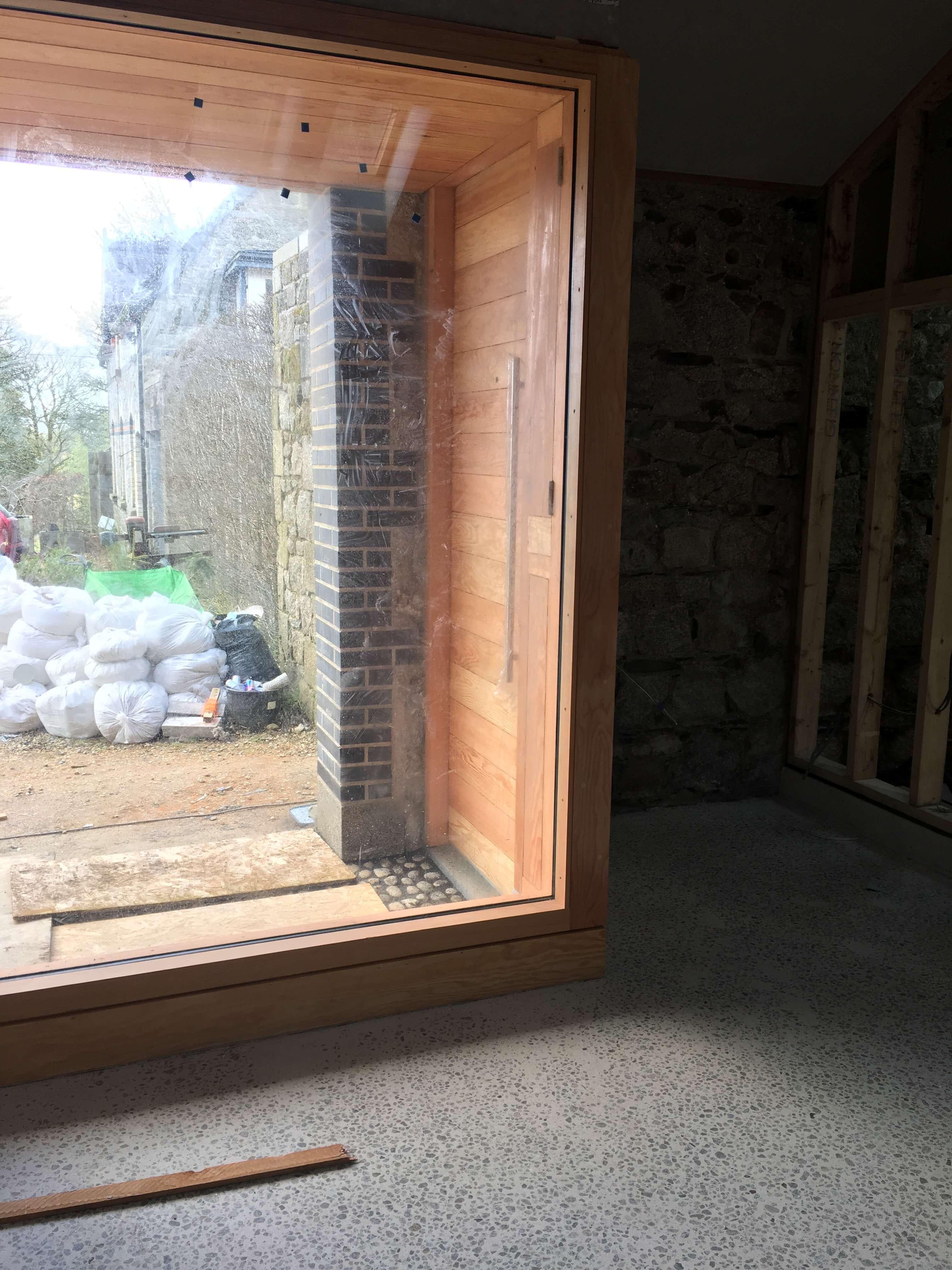 66mm Douglas Fir Sheeted Door & Window