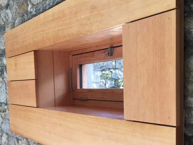 Douglas Fir Sheeted Window.