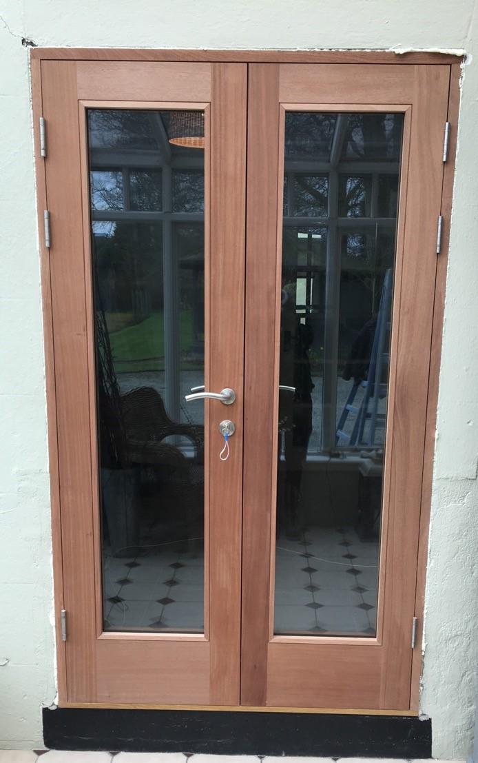 Sapele Double Doors.