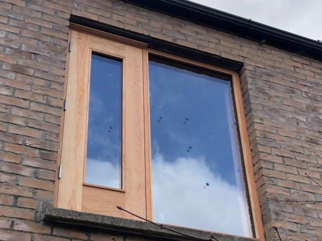 Douglas Fir Window